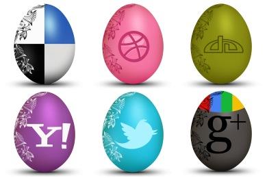 Egg Social Icons