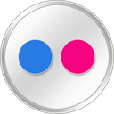 Flickr-White icon