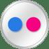 Flickr-White icon