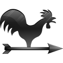 wind vane icon