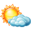 Partly-cloudy-day icon
