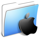 Aqua-Smooth-Folder-Apple icon