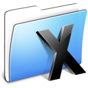 Aqua Smooth Folder System icon