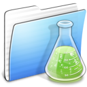Aqua-Stripped-Folder-Experiments-copy icon