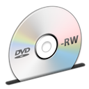 Disc DVD RW icon