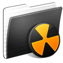 Folder-Burnable-Stripped icon