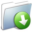 Graphite Smooth Folder DropBox icon