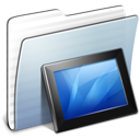 Graphite Stripped Folder Wallpapers icon
