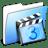 Aqua-Smooth-Folder-Movies icon