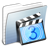 Graphite-Stripped-Folder-Movies icon