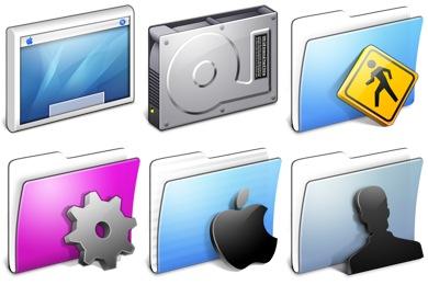 Aqua Blend Icons
