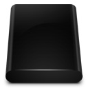 Black Drive Internal icon