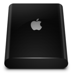Black Drive External icon