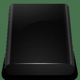 Black Drive Internal icon