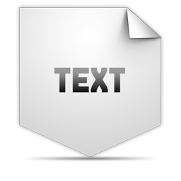 Clipping Text icon