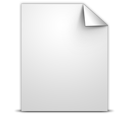 Document Generic icon