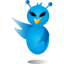 alien bird icon