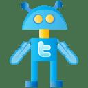 Twitter bot icon