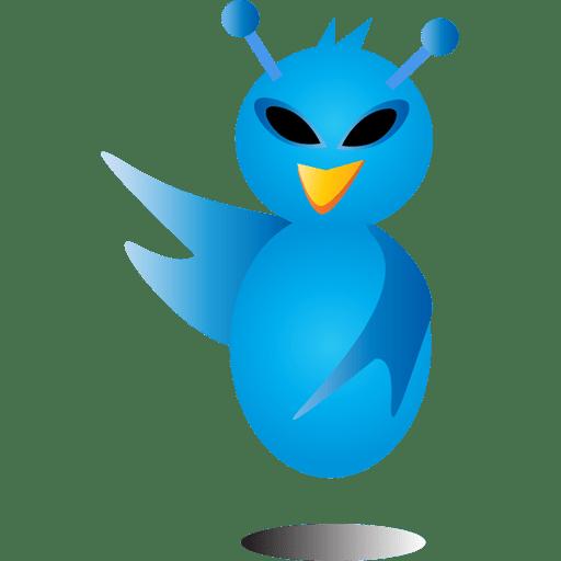 Alien bird icon