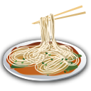 Recipe noodles pasta icon