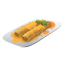 Recipe spring roll icon