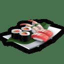 Recipe sushi icon