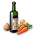 Recipe wine icon