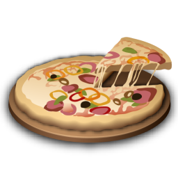 Recipe pizza icon