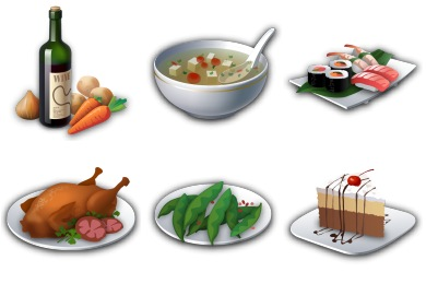 Recipes (15 icons)