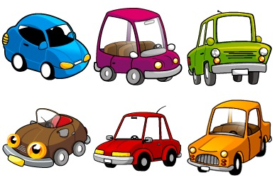 Funny Cars Icons