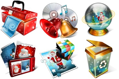 Magic Christmas Icons