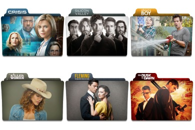 2014 Midseason TV Series Icons