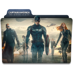 Captain America Winter Soldier Folder 4 icon