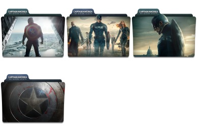 Captain America - The Winter Soldier Icons
