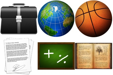 Curriculum Vitae Icons