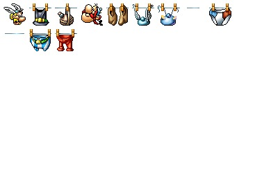 Asterixs Clothes Icons