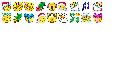 Christmas Smilies Icons