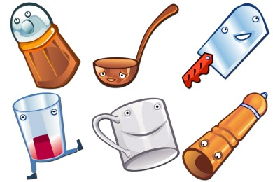 Happy Kitchen Icons