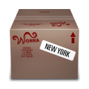 Shipping-Box-New-York icon