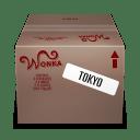 Shipping Box Tokyo icon