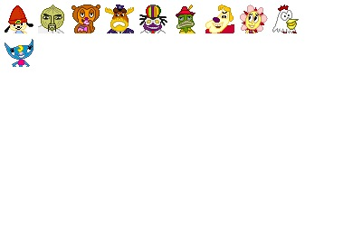 Parappa The Rappa Icons