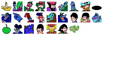 Yellow Submarine Icons