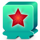 Monster turquoise icon