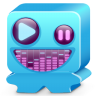 Monster-blue icon