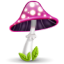 http://icons.iconarchive.com/icons/madoyster/mushrooms/64/mushroom-pink-icon.png