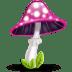 Mushroom-pink icon