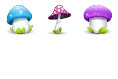 Mushrooms Icons