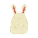 http://icons.iconarchive.com/icons/mag1cwind0w/akisame/128/Bunny-Happy-icon.png