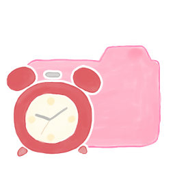 Folder Candy Clock icon