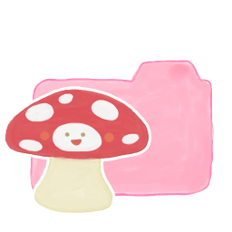 Folder Candy Mushroom icon